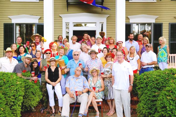 Family gathering at Bellamy Manor Bed and Breakfast