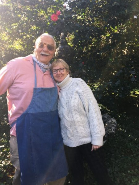 Wayne and Suzann Anderson, owners of Bellamy Manor and Gardens Bed and Breakfast in North Carolina